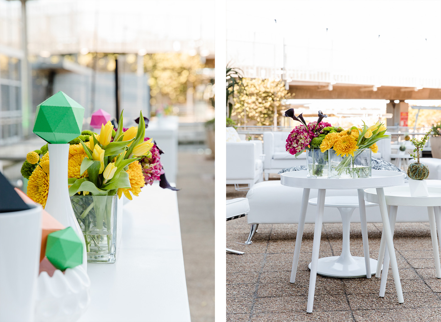 Sorrento Events | Corporate Cocktail Party Decor