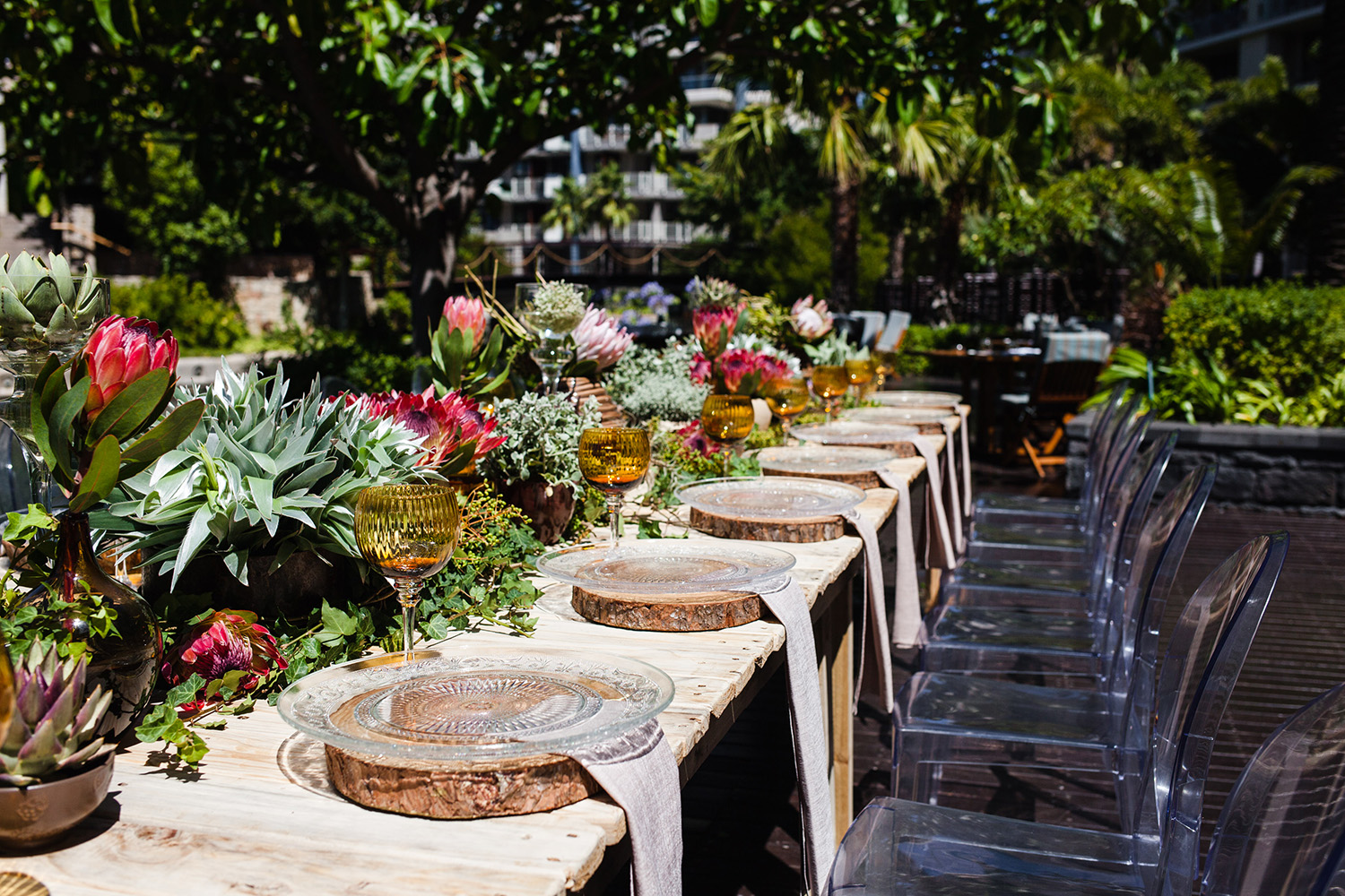 Paul Hollywood Television Series Feast Table at the One & Only Cape Town - Sorrento Events