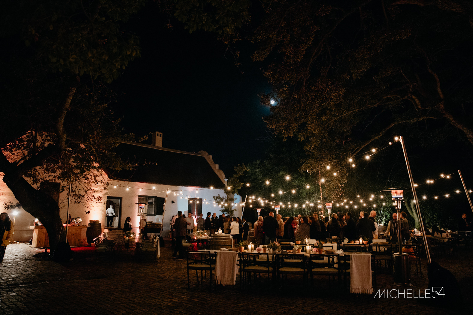 Sorrento Events Spier Outdoor Dinner